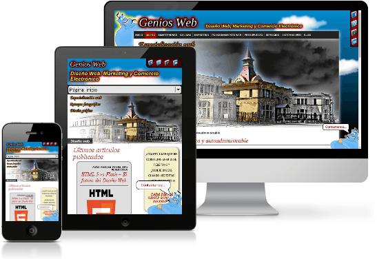 Diseño web para celulares